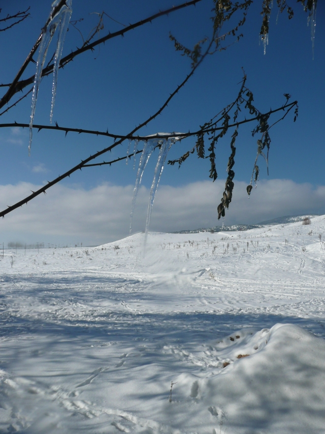 Schnee in der Türkei